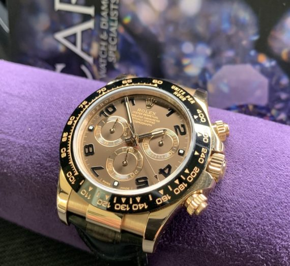 ROLEX DAYTONA 18CT ROSE GOLD MODEL 116515LN 3