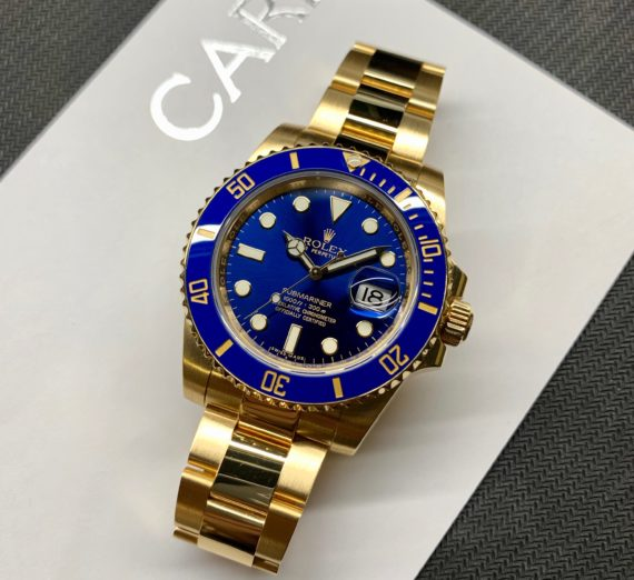 SOLID GOLD ROLEX SUBMARINER 116618LB 2