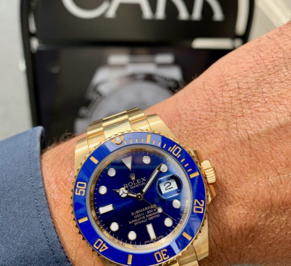SOLID GOLD ROLEX SUBMARINER 2