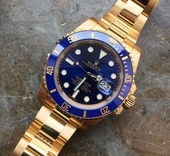 SOLID GOLD ROLEX SUBMARINER