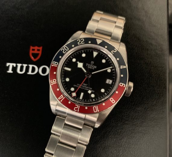 TUDOR GMT PEPSI BEZEL BLACK BAY 6