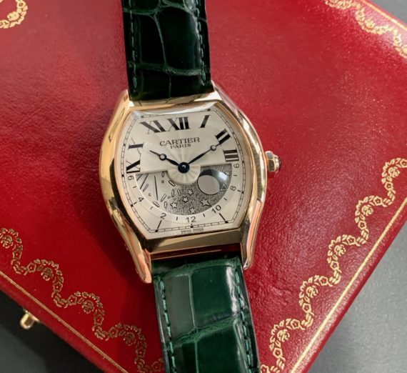 CARTIER 18CT TORTUE