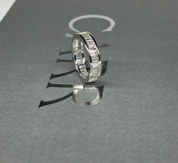 FULL DIAMOND ETERNITY RING 1