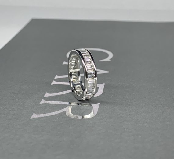 FULL DIAMOND ETERNITY RING 3