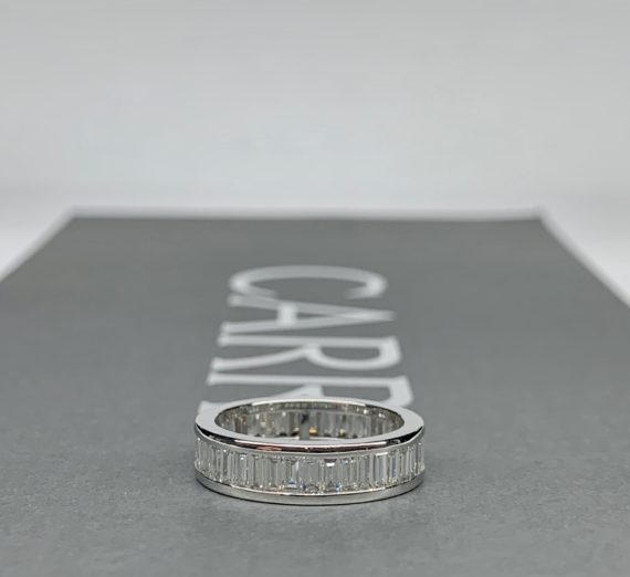 FULL DIAMOND ETERNITY RING 5