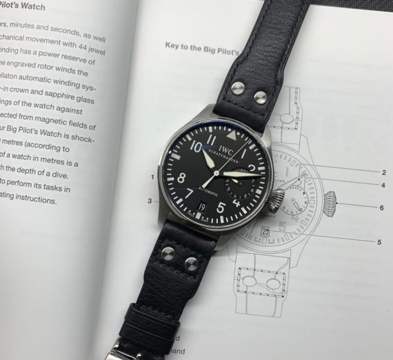 IWC BIG PILOT 7 DAY POWER RESERVE IW501001 2
