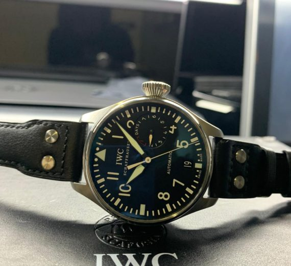 IWC BIG PILOT 7 DAY POWER RESERVE IW501001 3