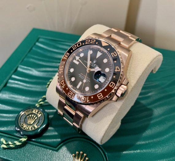 ROLEX FULL GOLD GMT MASTER MODEL 126715CHNR 1