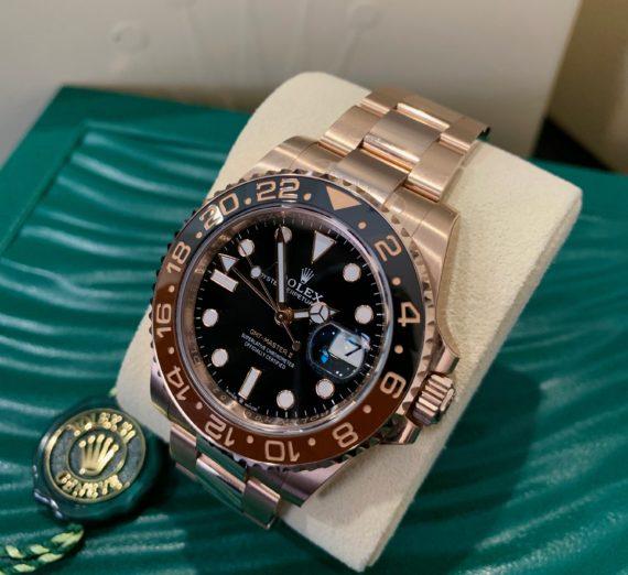 ROLEX FULL GOLD GMT MASTER MODEL 126715CHNR 2