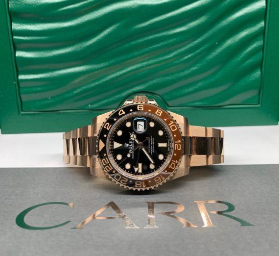 ROLEX FULL GOLD GMT MASTER MODEL 126715CHNR 4