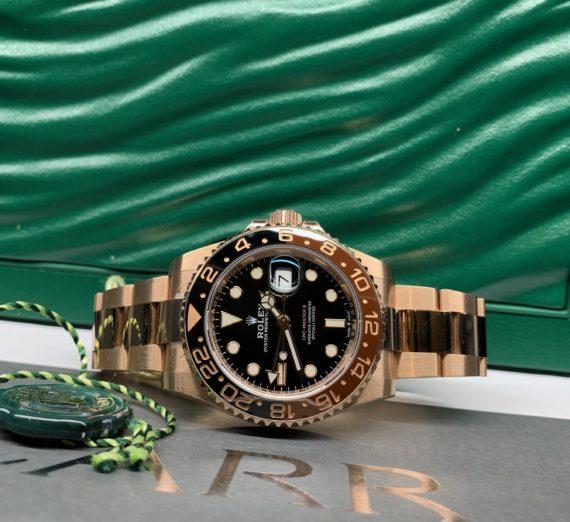 ROLEX FULL GOLD GMT MASTER MODEL 126715CHNR 6