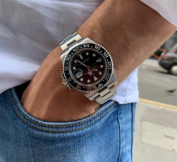 ROLEX GMT MASTER II 116710LN 1