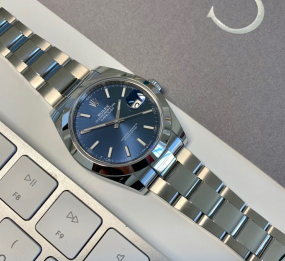 BRAND NEW ROLEX DATEJUST BLUE DIAL