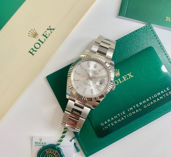 BRAND NEW SEPTEMBER 2020 DATEJUST 41MM CASE 3