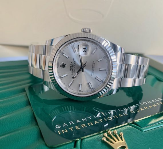 BRAND NEW SEPTEMBER 2020 DATEJUST 41MM CASE 4