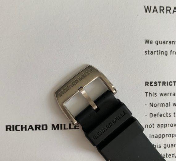 RICHARD MILLE WHITE GOLD RM005 2
