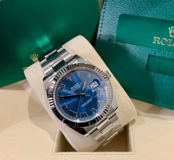 ROLEX 41MM DATEJUST  BLUE DIAL 1