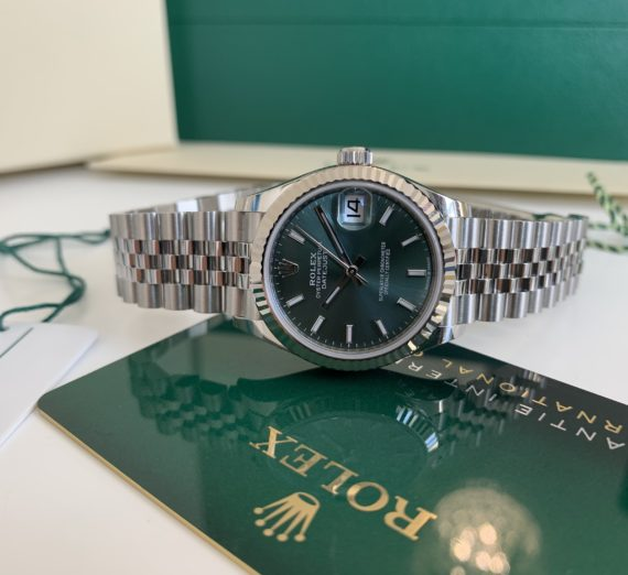 ROLEX DATEJUST 31MM NEW 2020 MINT GREEN 2
