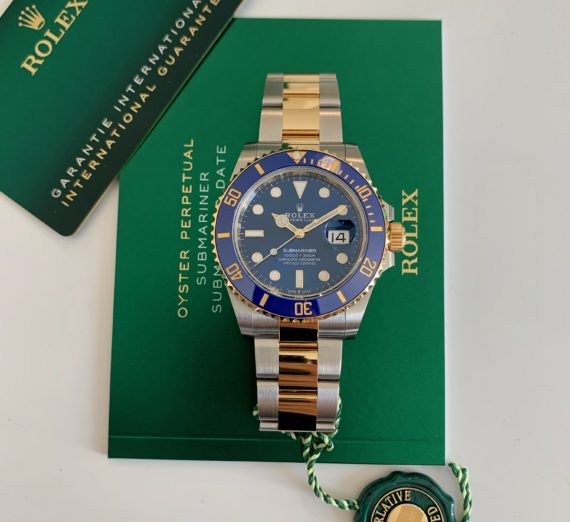 ROLEX SUBMARINER DATE 126613LB 41MM NEW MODEL 2020 1