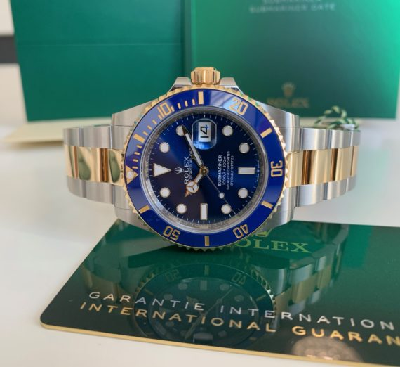 ROLEX SUBMARINER DATE 126613LB 41MM NEW MODEL 2020