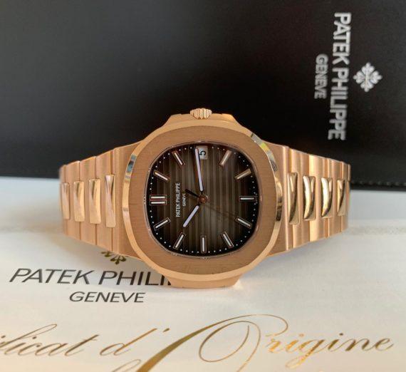 ROSE GOLD PATEK NAUTILUS 5711R