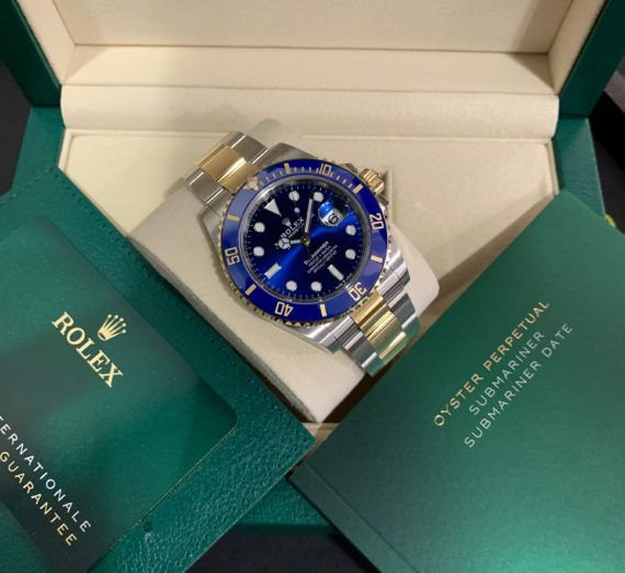 ROLEX SUBMARINER DATE 126613LB 41MM NEW MODEL 2020 4