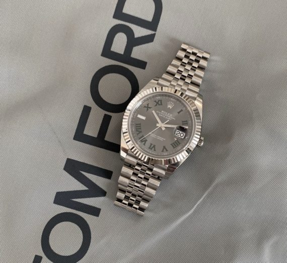 ROLEX WIMBLEDON STEEL AND WHITE GOLD MODEL 126334 1