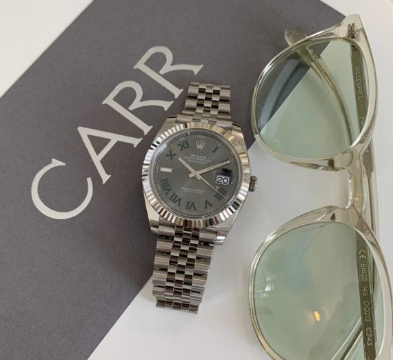 ROLEX WIMBLEDON STEEL AND WHITE GOLD MODEL 126334 2