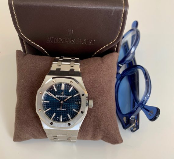 AUDEMARS PIGUET BOUTIQUE BLUE 15450ST.OO.1256ST.03 2