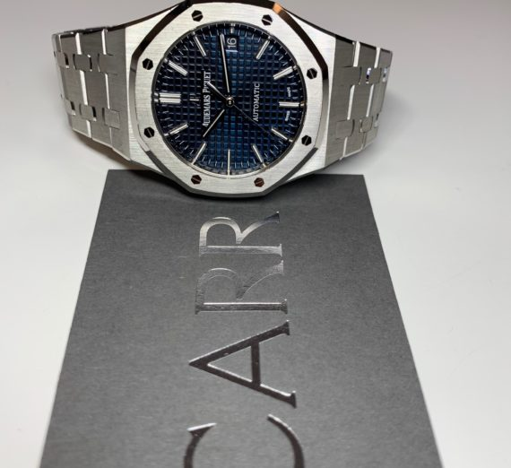 AUDEMARS PIGUET BOUTIQUE BLUE 15450ST.OO.1256ST.03 4