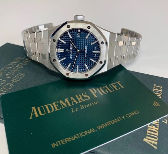 AUDEMARS PIGUET BOUTIQUE BLUE 15450ST.OO.1256ST.03