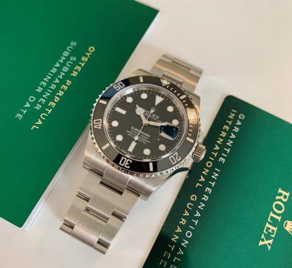 NEW STYLE ROLEX SUBMARINER DATE MODEL 126610LN 2