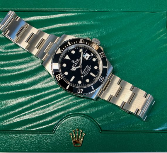 NEW STYLE ROLEX SUBMARINER DATE MODEL 126610LN 5