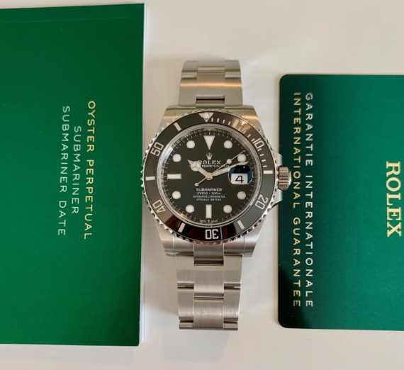 NEW STYLE ROLEX SUBMARINER DATE MODEL 126610LN 7