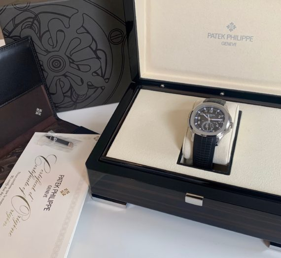 PATEK PHILIPPE AQAUNAUT TRAVEL TIME MODEL 5164A-001 3