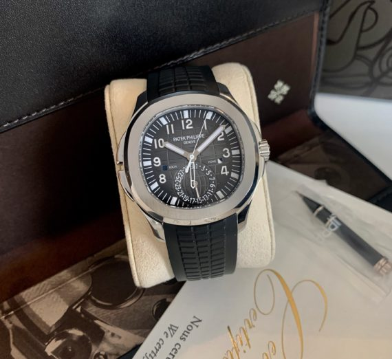 PATEK PHILIPPE AQAUNAUT TRAVEL TIME MODEL 5164A-001
