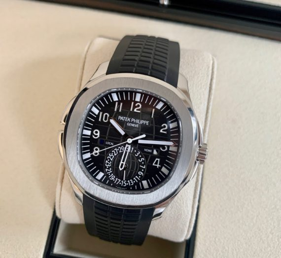 PATEK PHILIPPE AQAUNAUT TRAVEL TIME MODEL 5164A-001 5