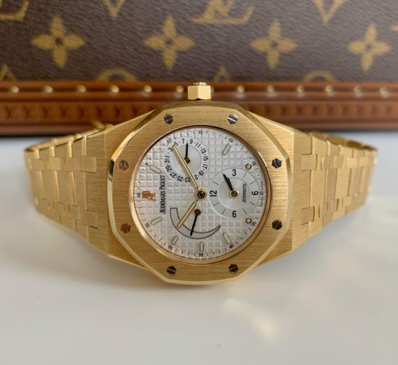 AUDEMARS PIGUET DUAL TIME 18ct yellow gold 25730BA 1