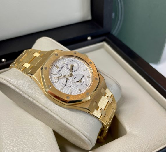 AUDEMARS PIGUET DUAL TIME 18ct yellow gold 25730BA 2