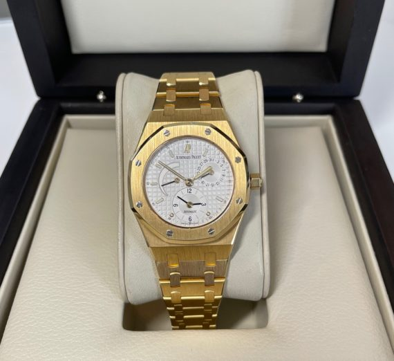 AUDEMARS PIGUET DUAL TIME 18ct yellow gold 25730BA 3