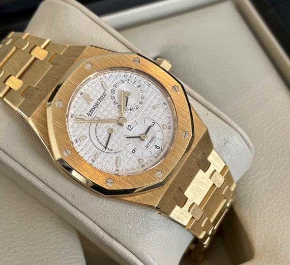 AUDEMARS PIGUET DUAL TIME 18ct yellow gold 25730BA 4