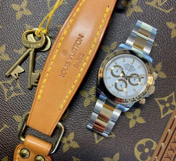 ROLEX DAYTONA 18CT YELLOW GOLD AND STEEL 116503 3