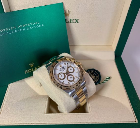 ROLEX DAYTONA 18CT YELLOW GOLD AND STEEL 116503 4