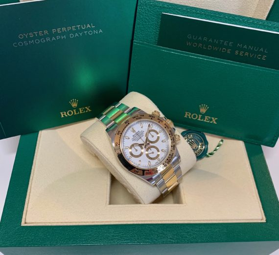 ROLEX DAYTONA 18CT YELLOW GOLD AND STEEL 116503 5