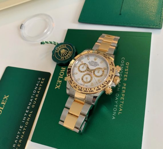 ROLEX DAYTONA 18CT YELLOW GOLD AND STEEL 116503 6
