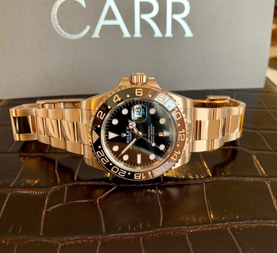 ROSE GOLD GMT MASTER