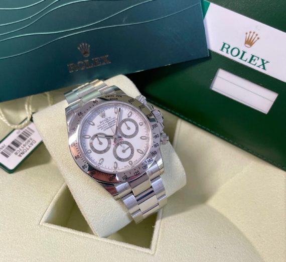 ROLEX DAYTONA WHITE DIAL MODEL 116520 2