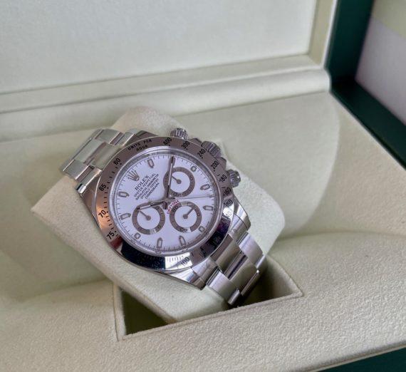 ROLEX DAYTONA WHITE DIAL MODEL 116520 3