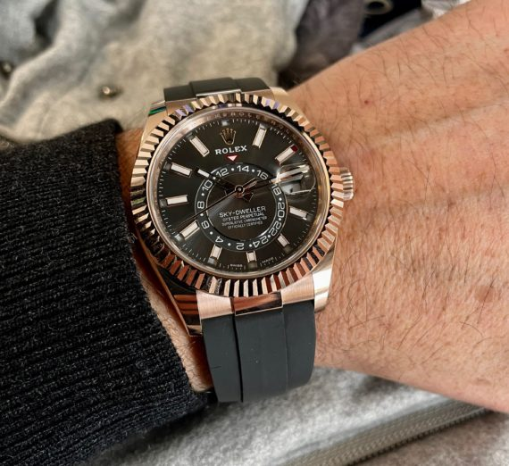 ROLEX ROSE GOLD SKY-DWELLER MODEL 326235