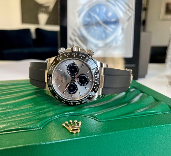 18CT WHITE GOLD DAYTONA OYSTER FLEX MODEL 116519LN 3